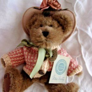 "10"" prime Boyds bear teddy bear collectible w tag"